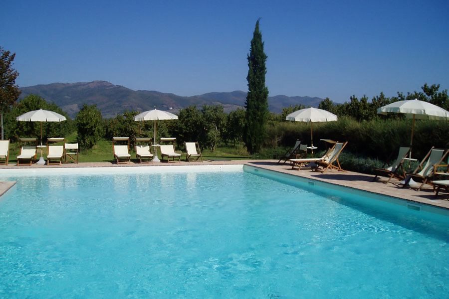 Foresteria I Giardini di Fontarronco: appartamenti in agriturismo vicino ad Arezzo