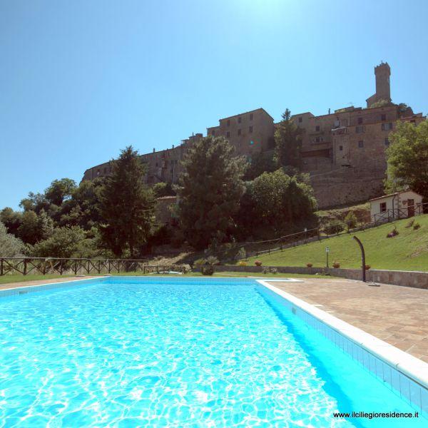 Il ciliegio residence roccatederighi grosseto for Piantina della piscina