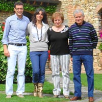 The Cantini family, the owners of Villa Le Torri