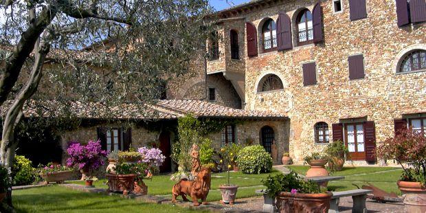 Tuscany Farmhouse Villa Le Torri